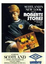 Umbro Scotland 1980s