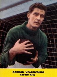 Gordon Yearncome, Cardiff City 1959