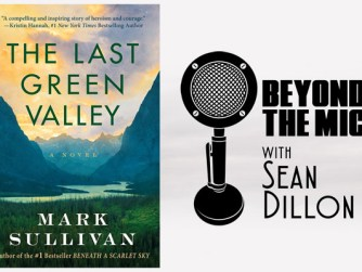 The Last Green Valley Book Cover and Beyond the Mic Logo