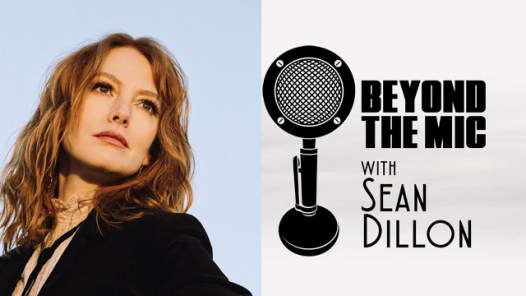 Alicia Witt and Beyond the Mic Logo