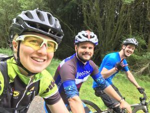 Afan forest biking