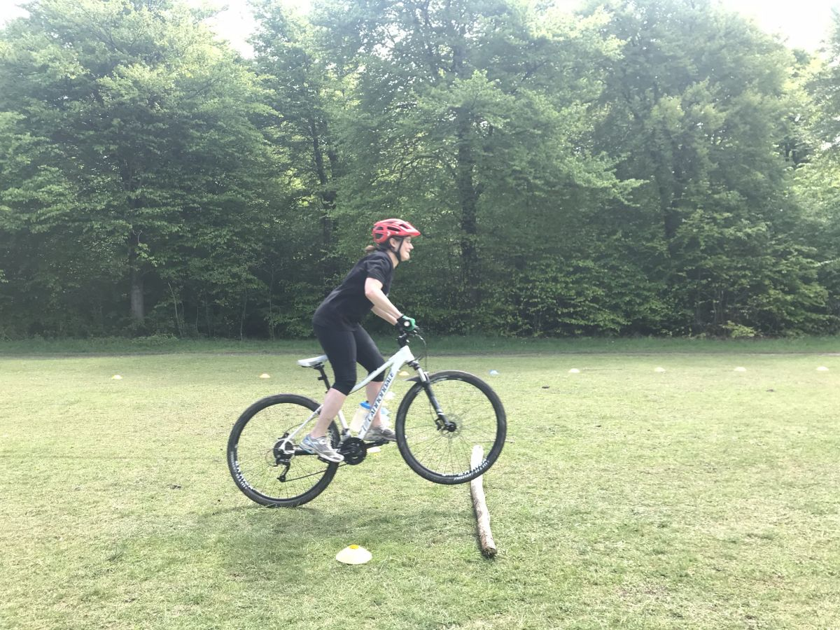 Mountain bike skills coaching