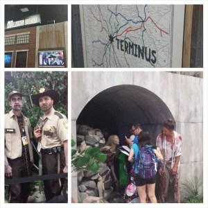 PhotoGrid of The Walking Dead and ComicCon 2014