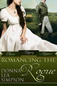 """Romancing the Rogue"" Donna Lea Simpson"