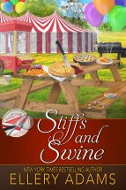 """Stiffs and Swine"" Ellery Adams"