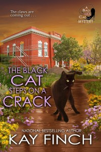 """The Black Cat Steps on a Crack"" Kay Finch"