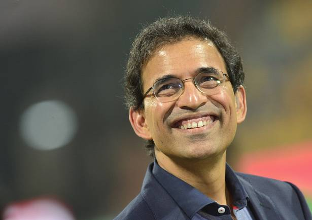 """""""Harsha Bhogle: Out"""". Appeal!"""