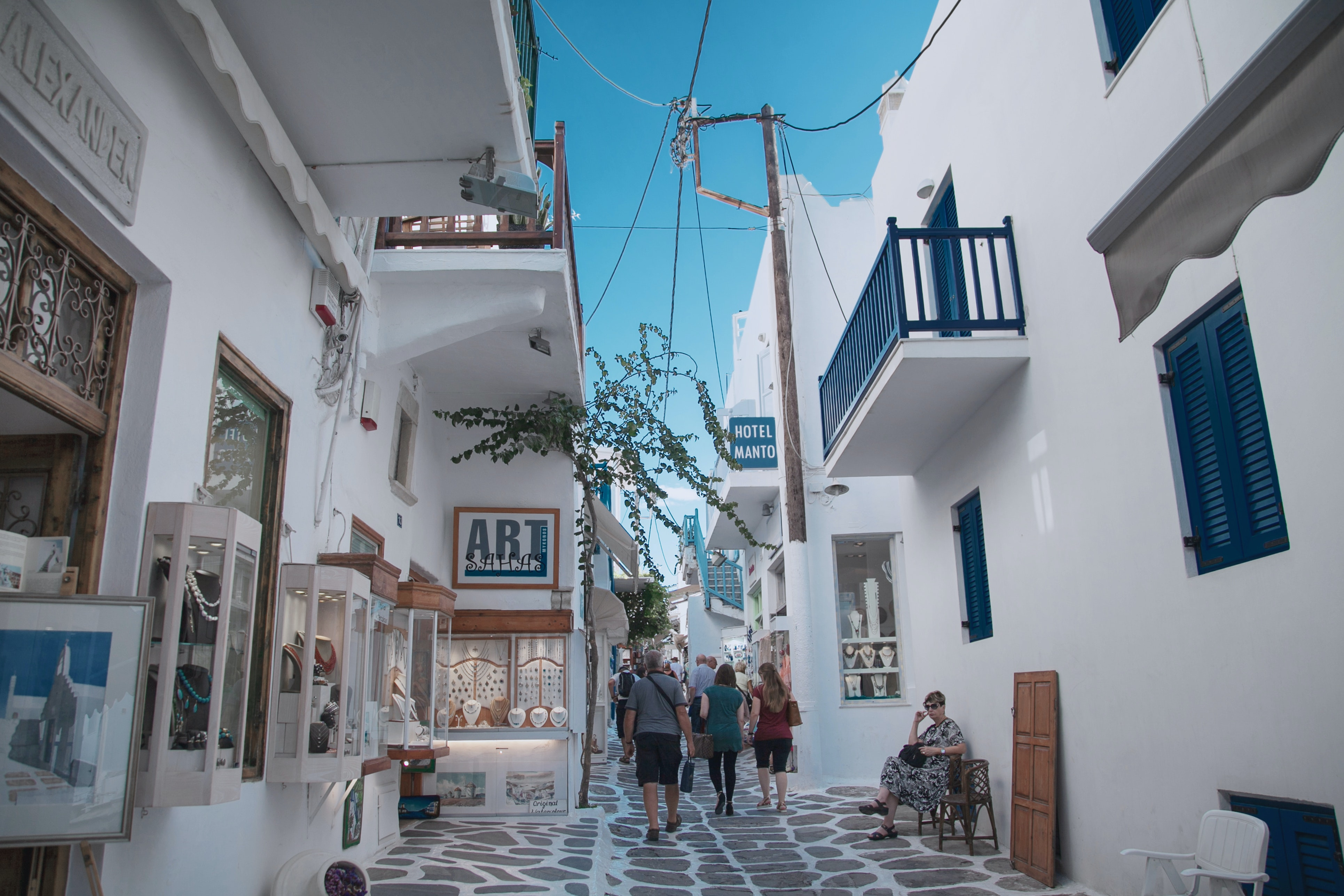 Mykonos- The Island of the Winds