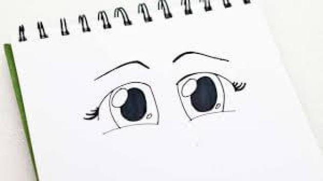 Cartoon EyesDrawing