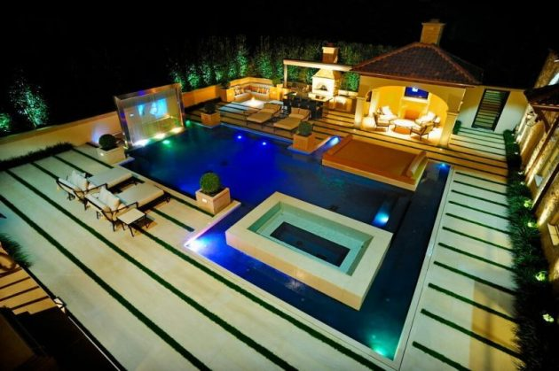 Delight design of swimming pool #swimmingpools #homedecor #indoorpool #outdoorpool