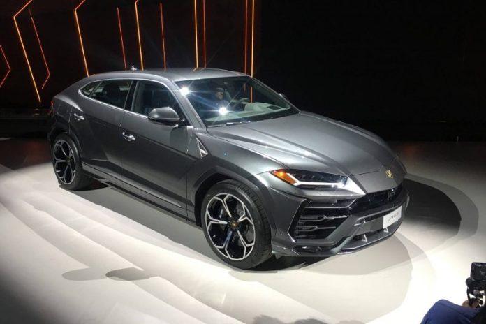 The Luxury cars in the world (Lamborghini Urus)