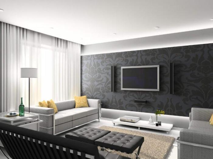 Grey Living Room Color Ideas