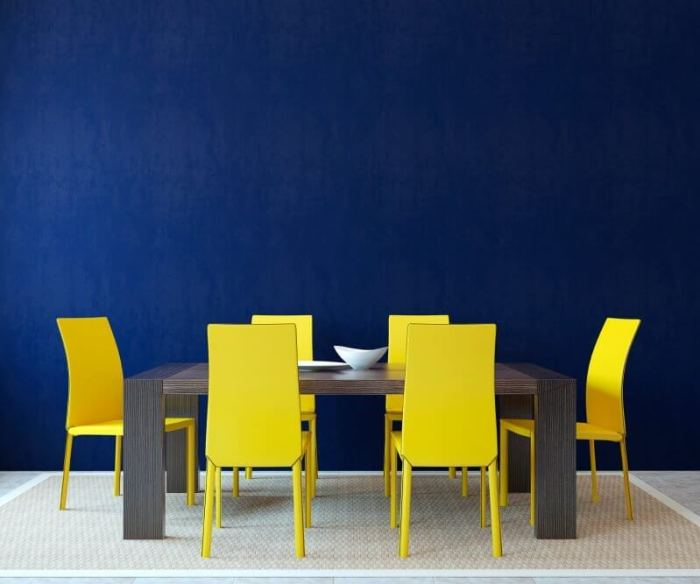 Blue Dinning Room Paint Color