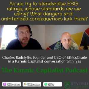 """We're trying to standardise what """"good"""" is, but we shouldn't - Charles Radclyffe"""