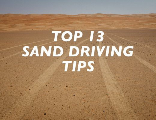 Sand Driving Tips