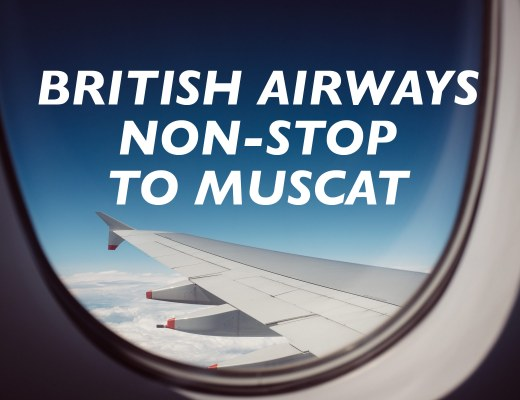 British Airways Non-Stop to Muscat