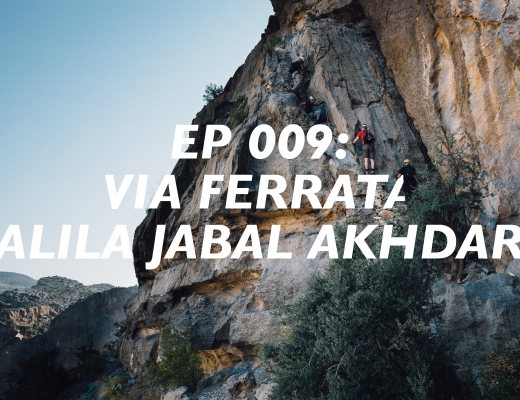 via ferrata, alila jabal akhdar