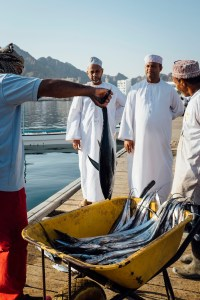 tuna, muttrah fish souq, omani fishermen