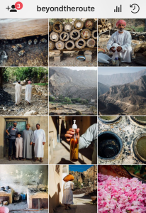 instagrams in Oman