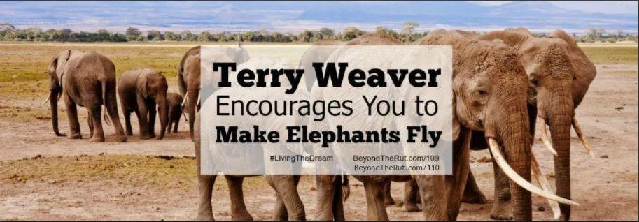 Terry Weaver Encourages You to Make Elephants Fly Part 2 – BtR 110
