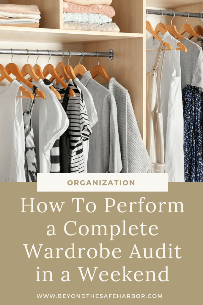 How To Perform a Complete Wardrobe Audit in a Weekend