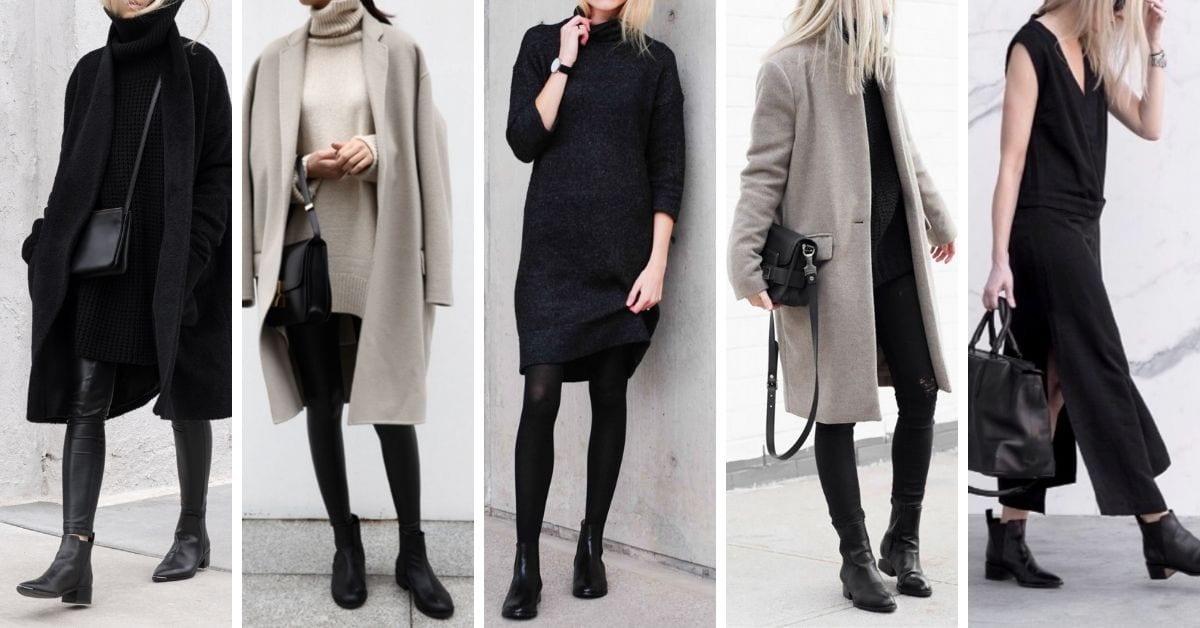 The 32 Best Classic Black Ankle Boots