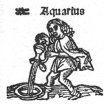 Aquariuswoodcut