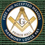 Harmony Lodge #61 emblem 2017