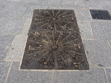 Just a drain cover but a rather fine one