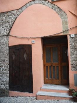 Ventimiglia arch and doors