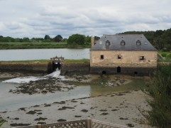 Tide mill at Saint Philibert - no longer in working order.