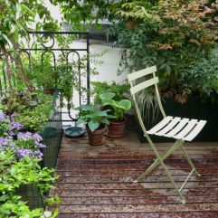 The Paris balcony garden where Beyond the Window Box started.