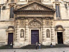 June -Église St Étienne du Mont - just next door to the Pantheon