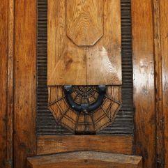 spider web door knocker paris
