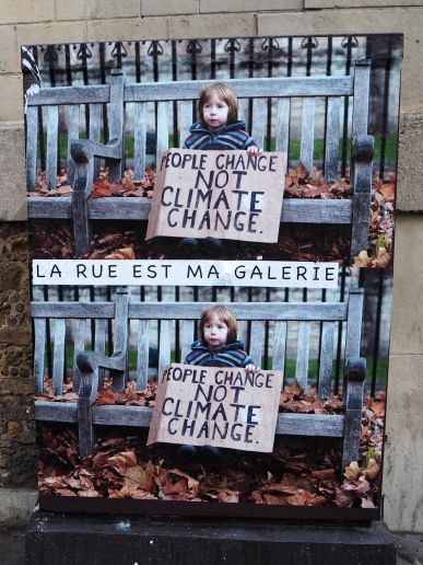 People Change not Climate Change