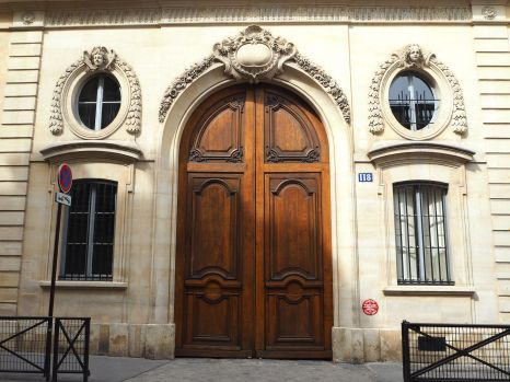 118 - once the home and atelier of painter Eugène Delacroix, now a private school