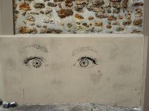 eyes street art Butte aux Cailles