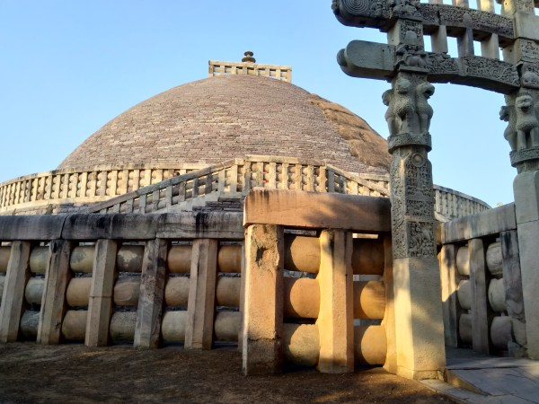 Sanchi- Main Stupa