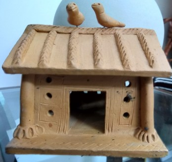 A terracota house bought from Lokrang