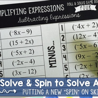 Spin to Solve and Roll to Solve Games