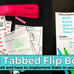 Mini Tabbed Flip Books – Why they work and how to implement them in your classroom!