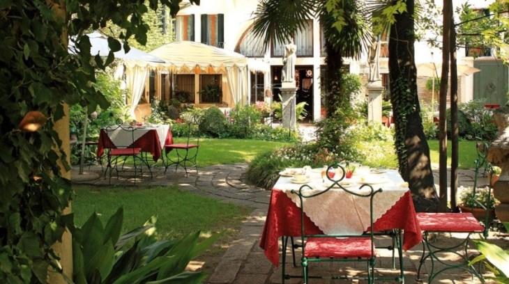 Dot to Dot: Itinerary Venice to Slovenia Hotel Abadessa Garden