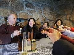 Tasting Istrian Brandy with Locals