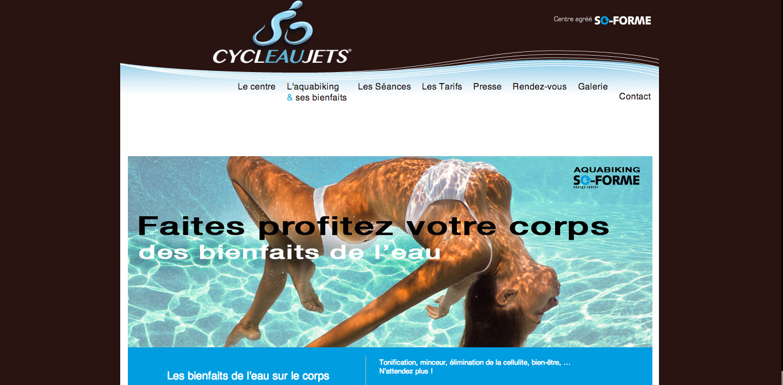cycleaujets aquabiking à Toulouse