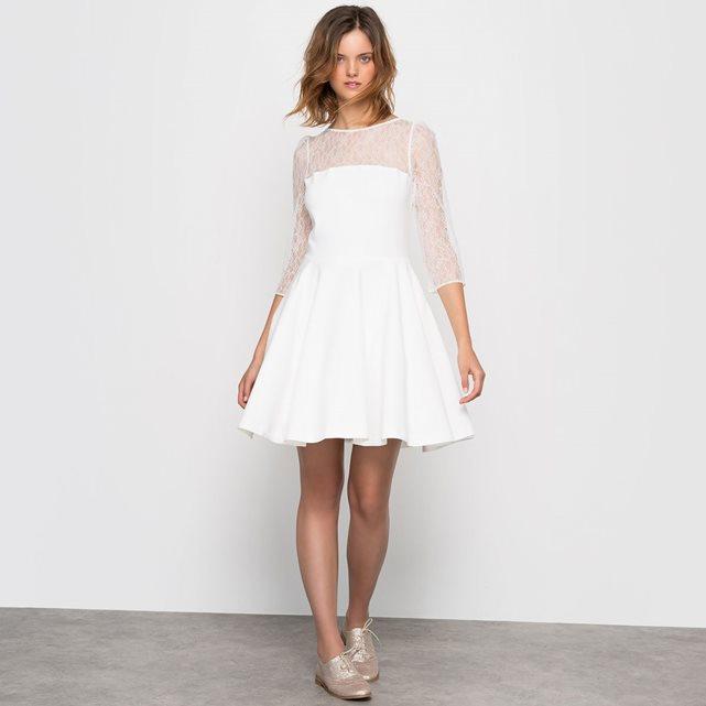 MADEMOISELLE R Robe de mariée courte