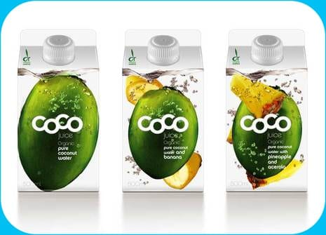 Coco Packaging design FMCG