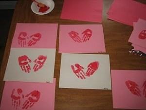 Valentine Crafting for Kids