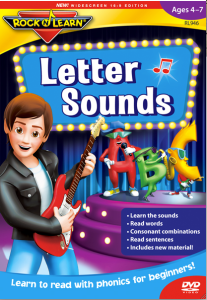 Letter Sounds by Rock n Learn  #Review