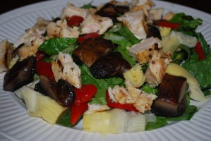 The Bird Is The Word…Grilled Asian Chicken Salad