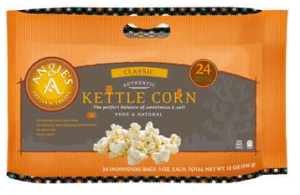 Halloween Snack Packs from Angie's Kettle Corn